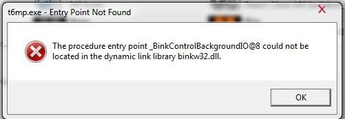 Binkw32 dll как установить