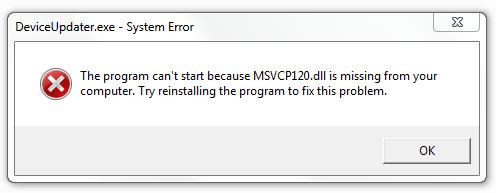 Скачать msvcp120. Dll что это за ошибка как исправить на windows.